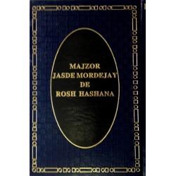 MAJSOR DE ROSH HASHANÁ JASDÉ MORDEJAI