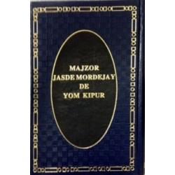 MAJSOR DE YOM KIPUR JASDÉ MORDEJAI
